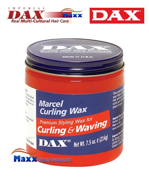 Dax Marcel Curling Wax Premium Styling for Curling & Waving 7.5oz