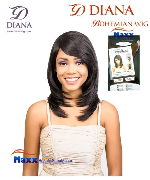Diana Bohemian Pure Natural Synthetic Hair Wig - Bora