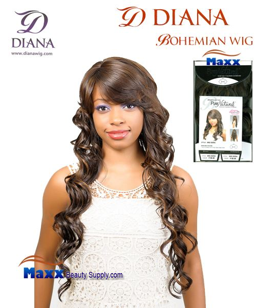 Diana Bohemian Pure Natural Synthetic Hair Wig - Sera