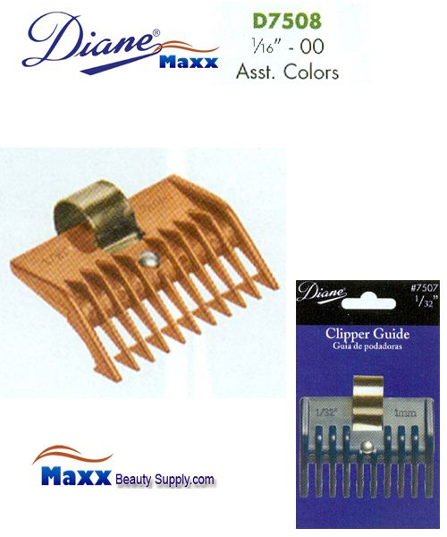 "Diane D7508 Clipper Guide 1/16"" - 00"