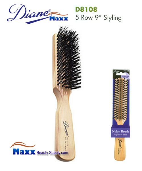 Diane Brush D8108 Extra Firm Nylon Brush