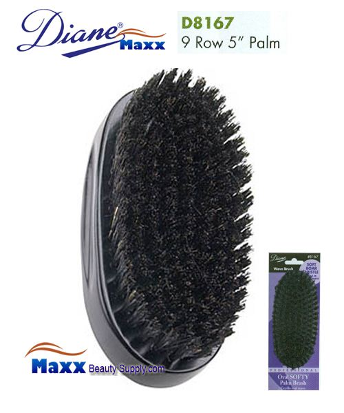 Diane Brush D8167 100% Boar Softy Palm Brush