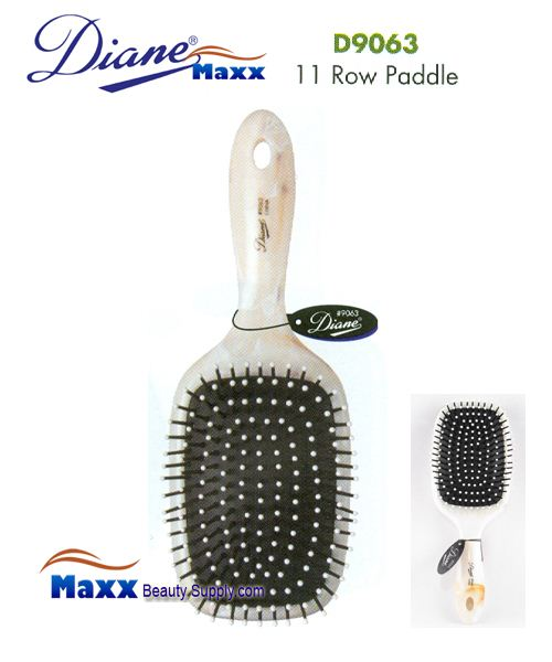 Diane Brush D9063 Shell Cushion Paddle Brush