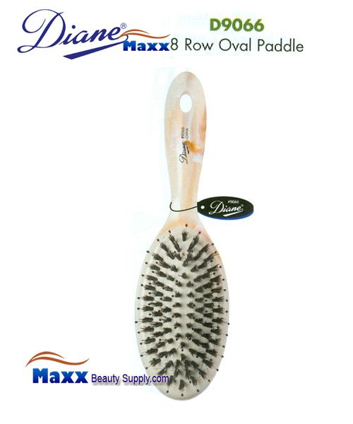 Diane Brush D9066 Shell Oval Cushion Paddle Brush