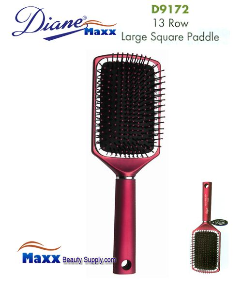 Diane Brush D9172 Royal Satin Large Oval Paddle Brush