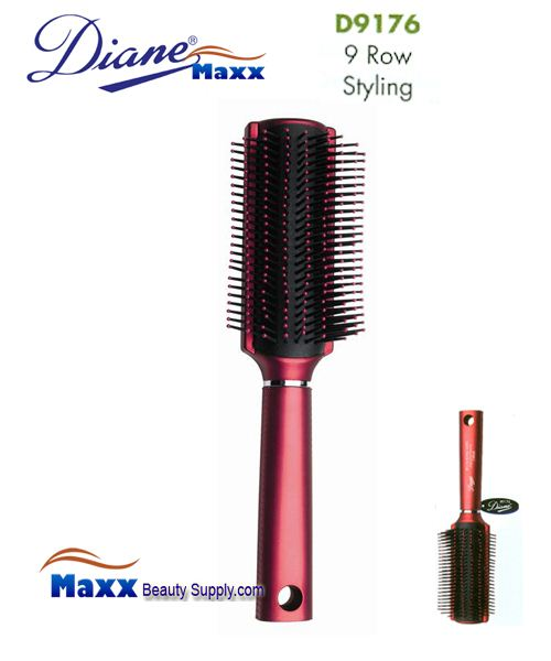 Diane Brush D9176 Royal Satin Denman Style Brush