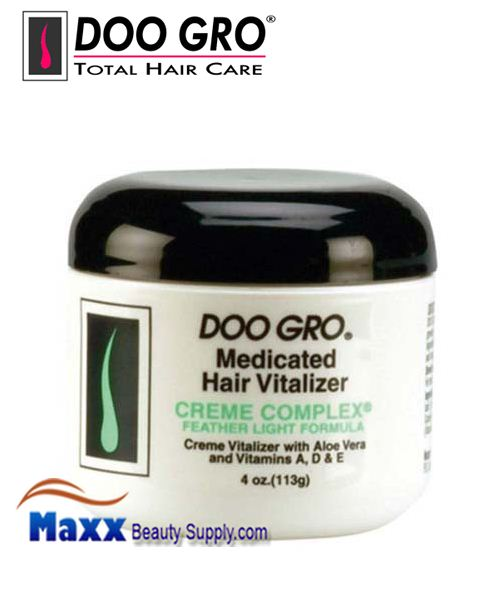 Doo Gro Medicated Hair Vitalizer 4oz - Creme Complex