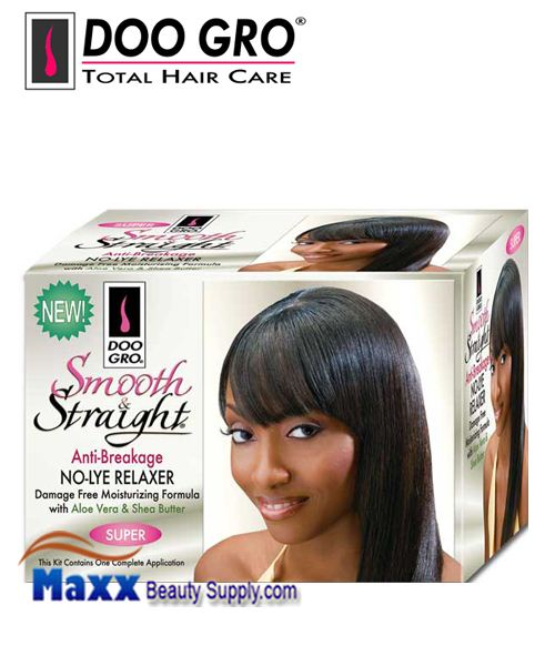 Doo Gro Smooth and Straight No-Lye Relaxer Kit - Super