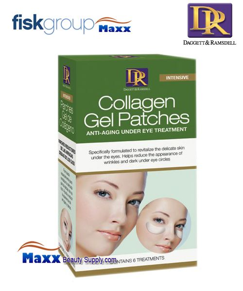 DR Daggett & Ramsdell Collagen Gel Patches 6 Anti-Aging Under Eye Treatments