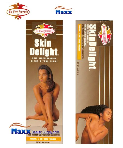 Dr Fred Summit Skin Delight Blend & Tone Cream 4oz - Normal to Oily
