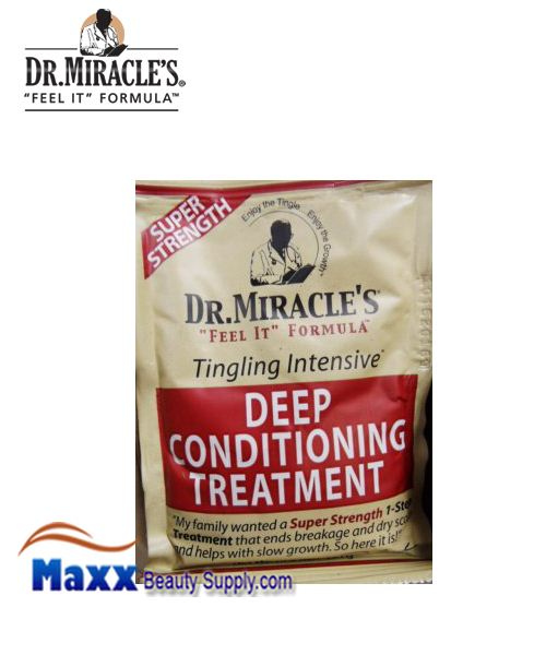Dr Miracle's Deep Conditioning Treatment Pack 1.75oz - Super