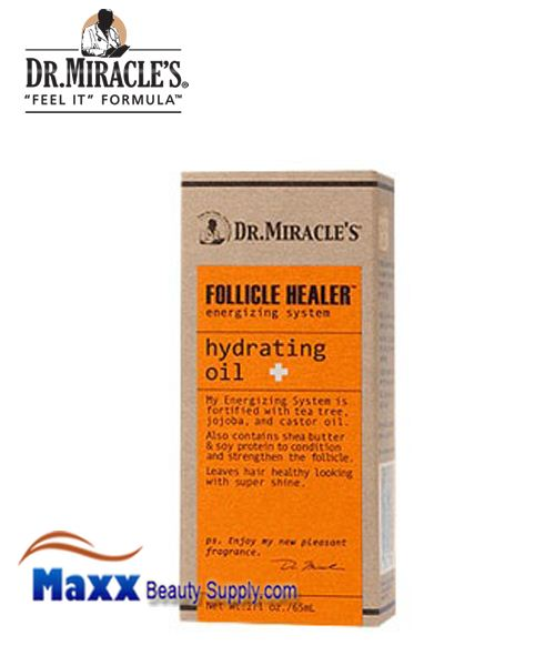 Dr Miracle's Follicle Healer Energizing System Hydrating Oil 2oz