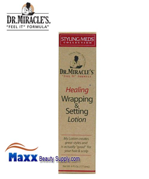 Dr Miracle's Style Healing Wrapping & Setting Lotion 6oz