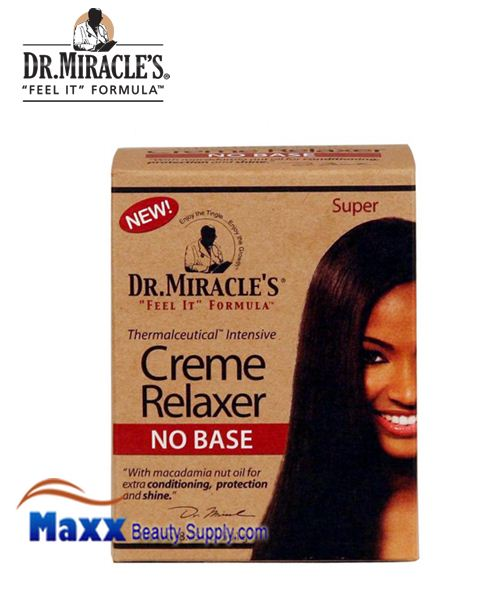 Dr Miracle's No Base Creme Relaxer 18.75oz - Super