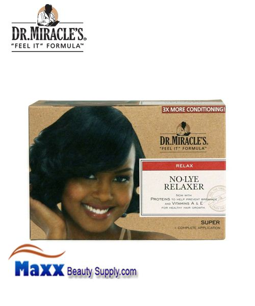 Dr Miracle's No Lye Relaxer Kit - Super