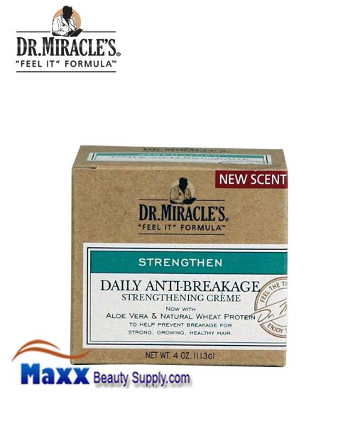 Dr Miracle's Anti-Breakage Strengthening Creme 4oz