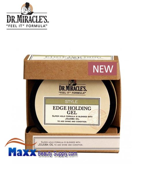 Dr Miracle's Style Edge Holding Hair Gel 2oz