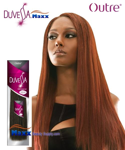 "Outre Duvessa Remi Human Hair Weave - Yaki Wvg 10"" ~ 14"""