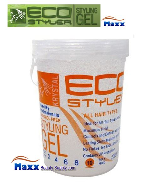 Eco Styler Styling Gel krystal 5LB - Clear Jar