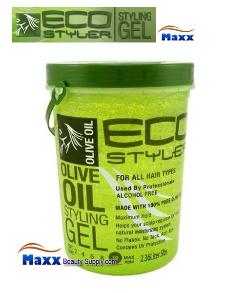 Eco Styler Styling Gel Olive Oil 5LB - Green Jar
