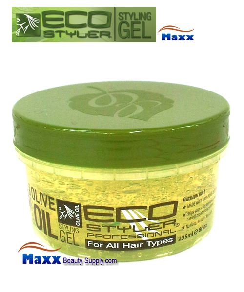 Eco Styler Styling Gel Olive Oil 08oz - Green Jar
