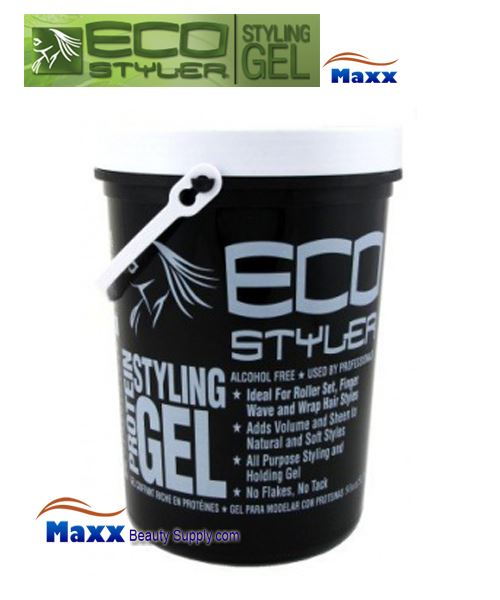 Eco Styler Styling Gel Protein 5LB - White Lid Jar