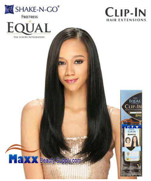 "FreeTress Equal Clip-In Hair Extensions - 8 PCS 14"",18"""