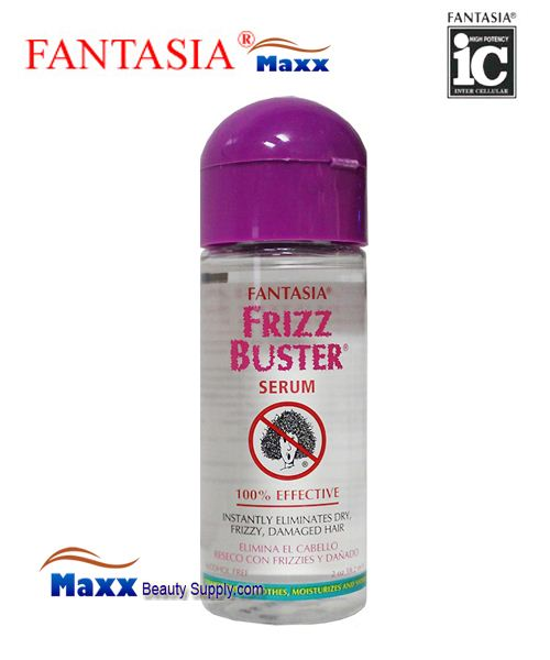 Fantasia Frizz Buster Serum 2oz - Bottle
