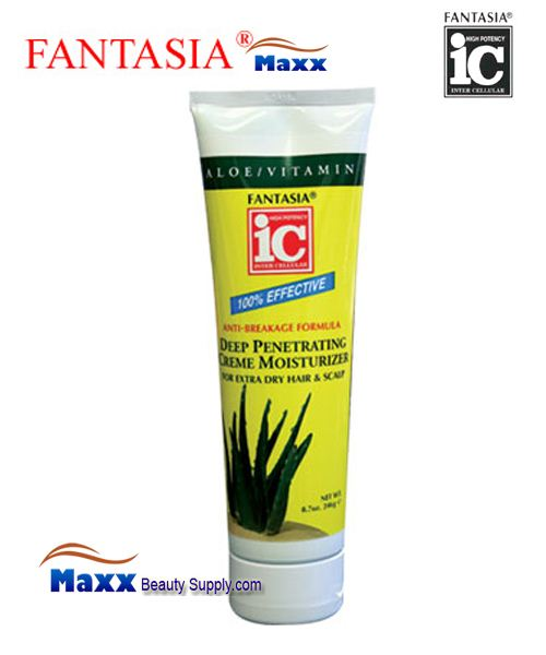 Fantasia IC Deep Penetrating Creme Moisturizer for Extra dry hair & scalp 8.7oz - Tube