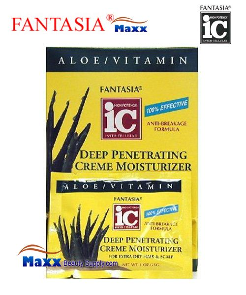 Fantasia IC Deep Penetrating Creme Moisturizer for Extra dry hair & scalp 1oz - Display(24 Pack)