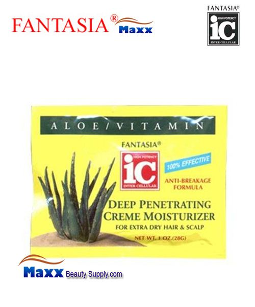 Fantasia IC Deep Penetrating Creme Moisturizer for Extra dry hair & scalp 1oz - 1Pack