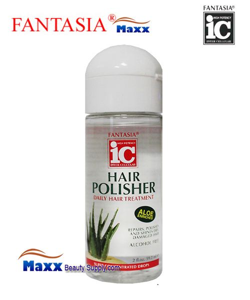 Fantasia IC Hair Polisher Aloe enriched Daily Hair Treatment 2oz - Bottle