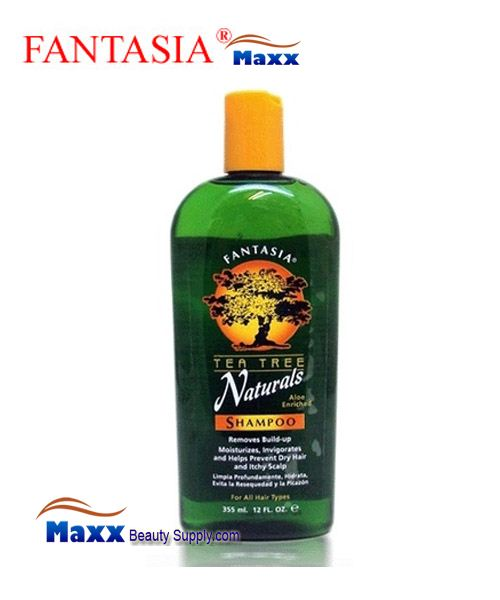 Fantasia Tea Tree Naturals Shampoo 12oz - Bottle