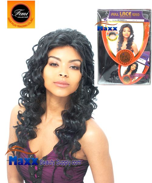 Femi Collection First Lady Full Lace Wig Human Hair Form - BONNY