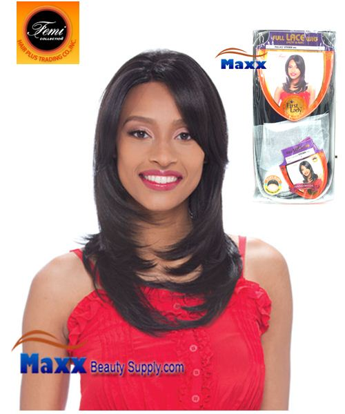 Femi Collection First Lady Full Lace Wig Human Hair Form - VIVIAN