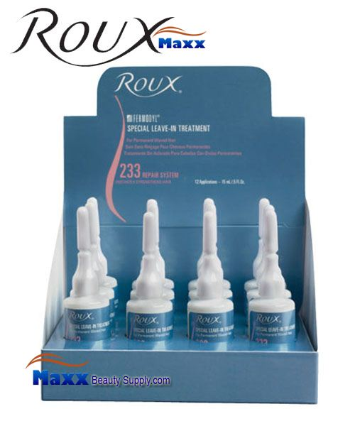 Roux Fermodyl Leave In Treatment 0.5oz - 233 Repair System SPECIAL - Display(12 Bottle)