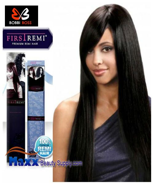 "Bobbi Boss First Remi Human Hair Weave - Prime Yaky 10"",12"",14"""