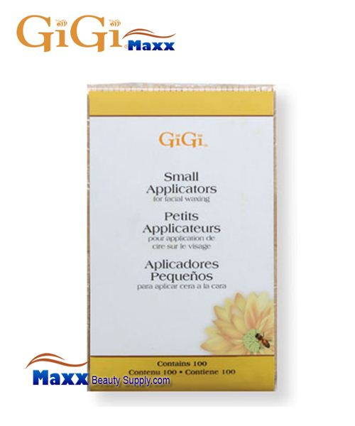 GiGi Honee Wax Applicators for Facial Waxing - Small - 100CT