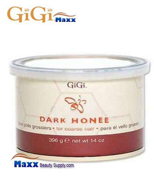 GiGi Dark Honee Wax for Coarse Hair 14oz