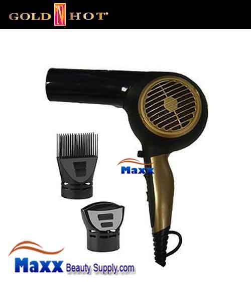 Gold N Hot #GH2260 1875W Ergonomic Pistol Hair Dryer