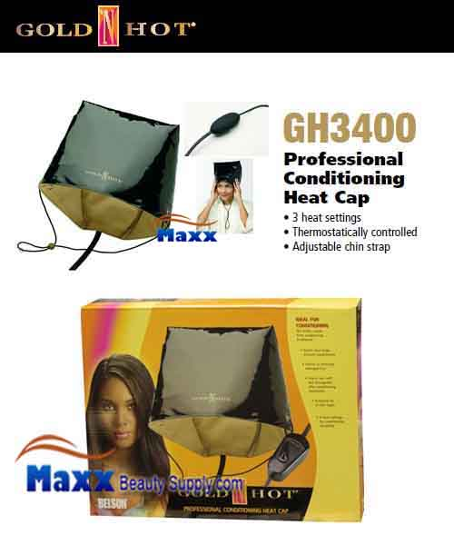Gold N Hot #GH3400 Professional Conditioning Heating Cap