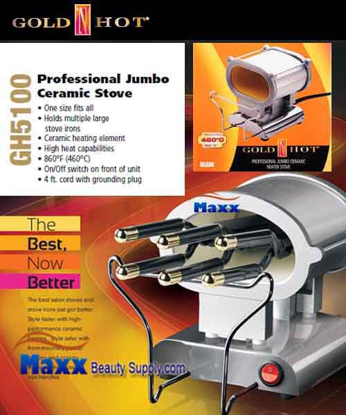Gold N Hot #GH5100 Professional Jumbo Ceramic Heater Stove