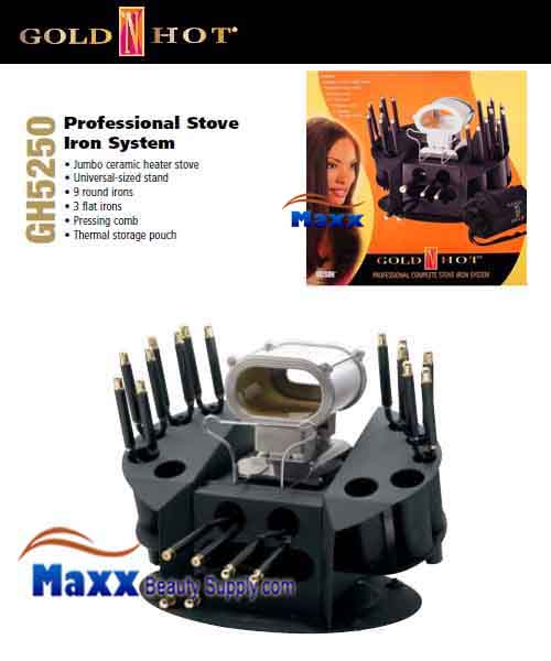 Gold N Hot #GH5250 Professional Complete Stove Iron System