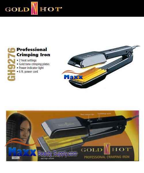 Gold N Hot #GH9276 Professional Crimping Iron