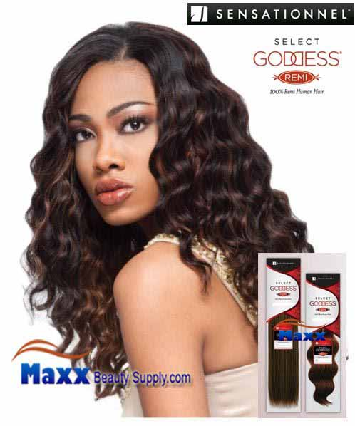 "Sensationnel Goddess Select Remi Human Hair Weave - Euro Body 10S"" ~ 14"""