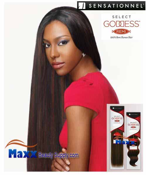 "Sensationnel Goddess Select Remi Human Hair Weave - Yaki 12"", 14"""