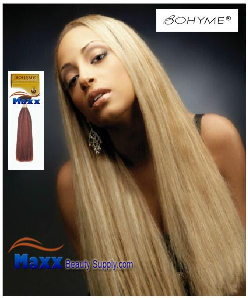 "Bohyme Velvet Luster Yaki Gold Collection Remy Human Weave Hair - 10""~18"""