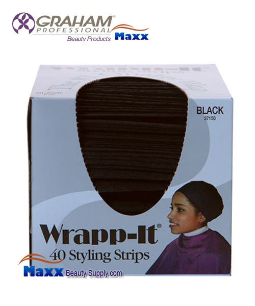 Graham Wrapp-it 40 Styling Strips 37150 - Black