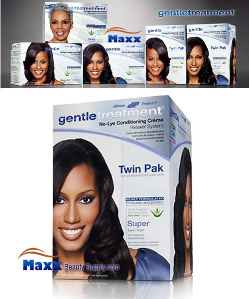 Gentle Treatment No-Lye Conditioning Creme Relaxer Twin Pak - Super
