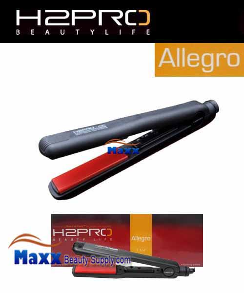 H2Pro Allegro Ceramic Styling Flat Iron(On/Off) - 1 3/4""